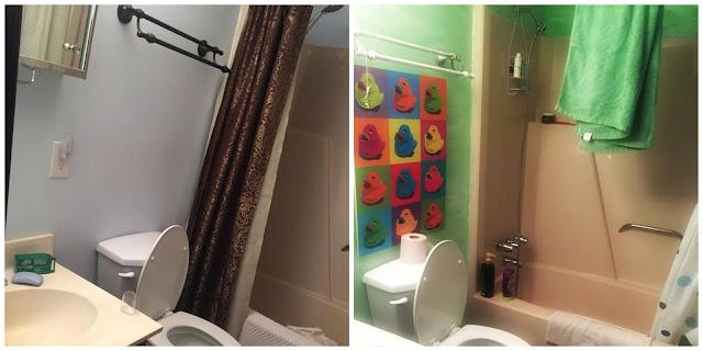 Annie Sloan Bathroom Makeover