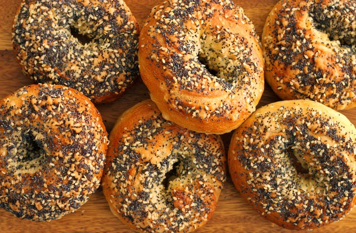 New York Style Poppyseed Bagels