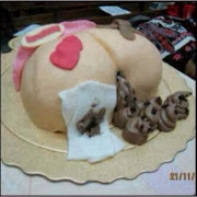 This has to Be the Most Disgusting Cake Design Yet! *hehe* (See Photo)