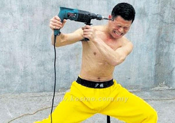 Pakar Kung Fu Gerudi Kepala