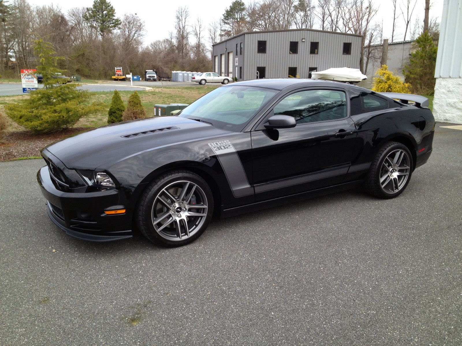 For sale 2013 ford mustang boss 302 laguna seca