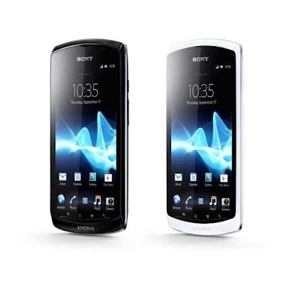 Sony Xperia Neo L colors black white