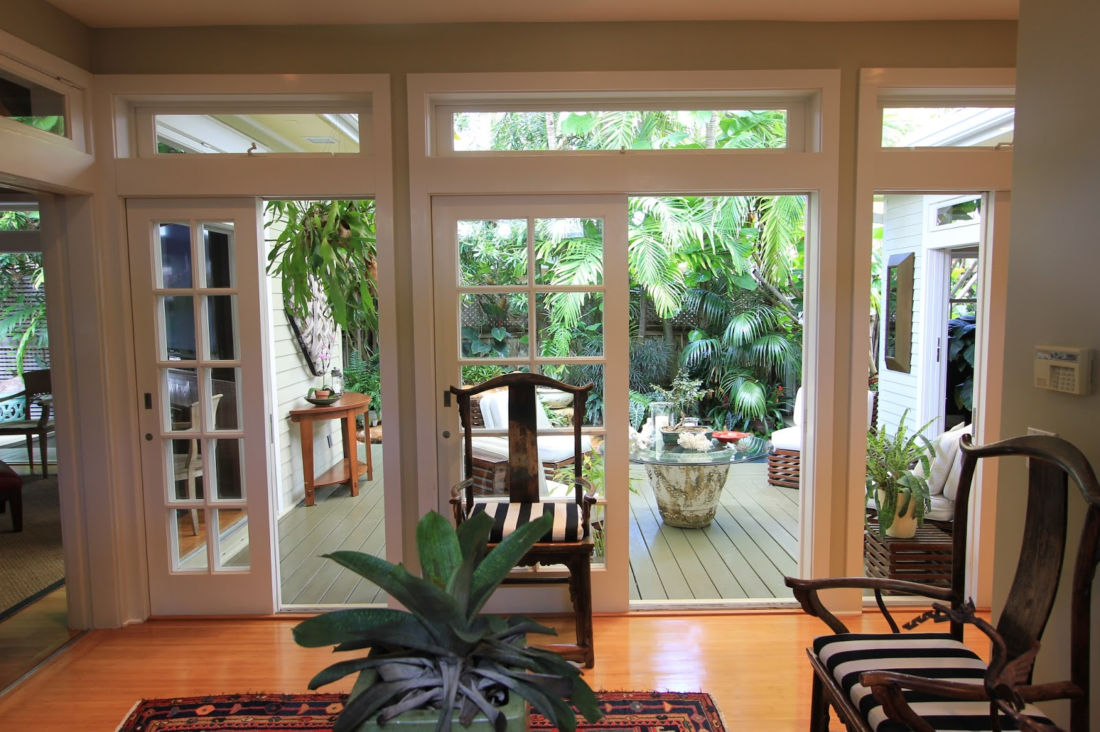 Key west properties 1104 south street key west price for French doors both open