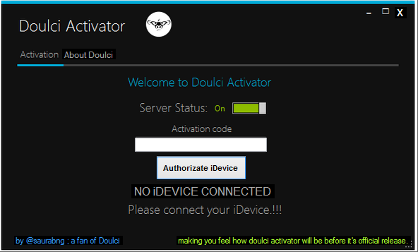 how to  doulci activator for