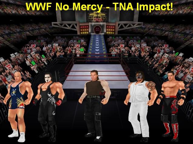 WWF No Mercy Mods: WWF No Mercy TNA Impact Mod