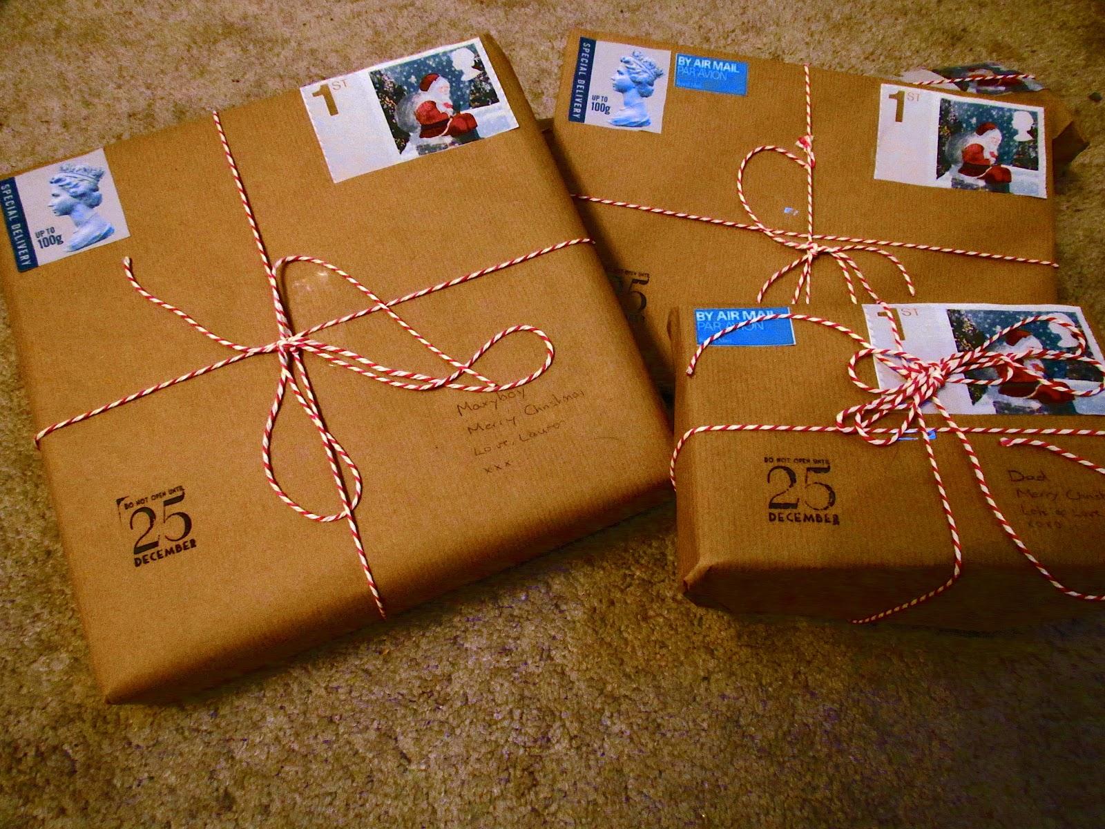 christmas gift wrapping • laurenella