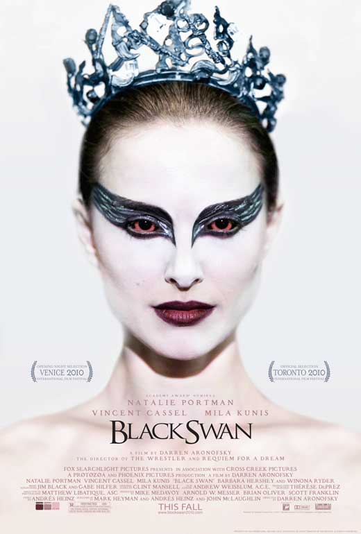 BLACK SWAN..yes,the oscar winning film.