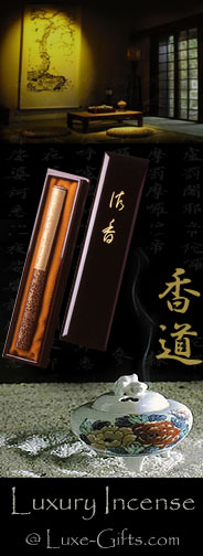 Luxury Incense @ LuxeGifts.com