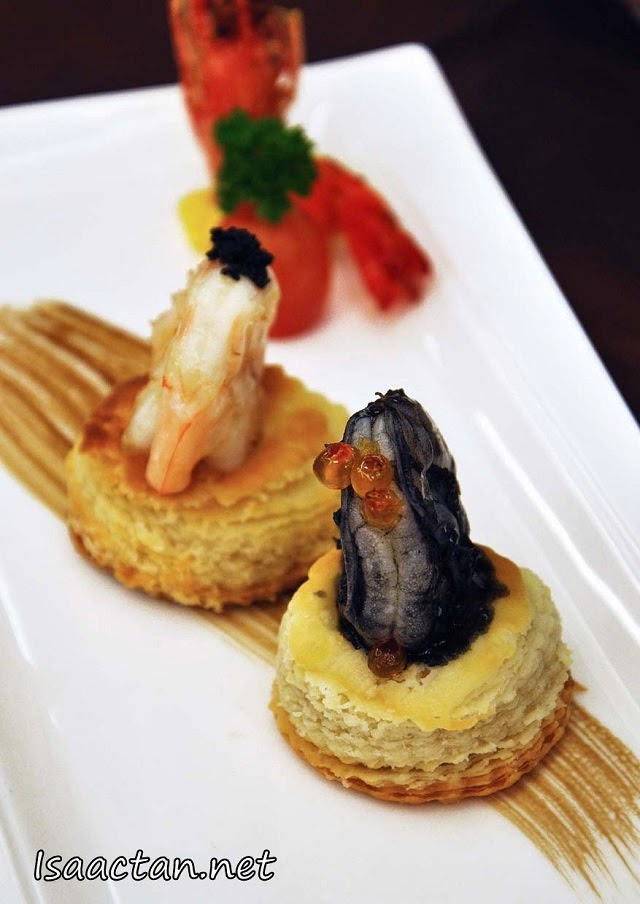 #3 Prawn in Two Varieties with Fish Roe