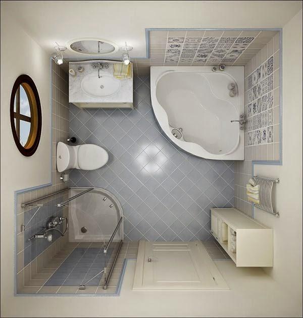 Gambar Bilik Mandi Cermin Dinding