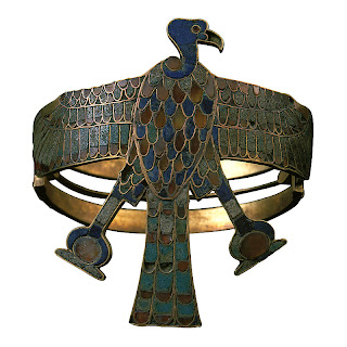 Inlaid Gold Armlet of Ahhotep