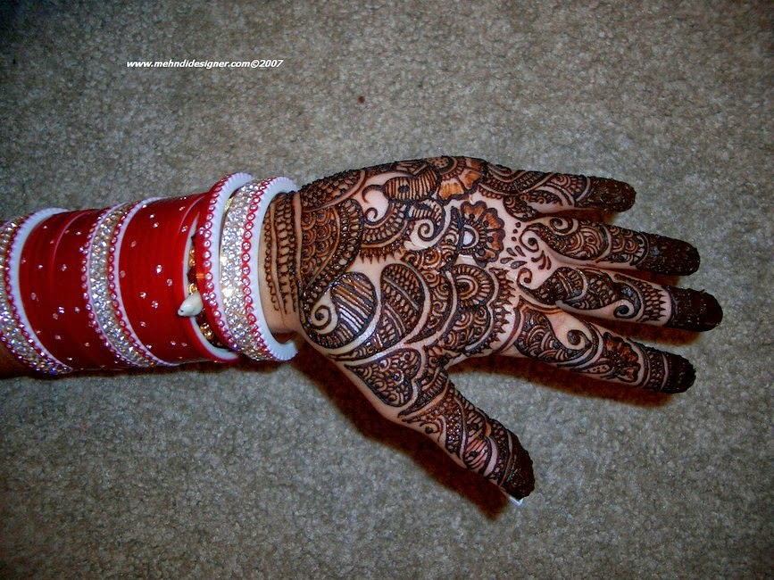 Common Mehndi Designs for Eid ul Fitr