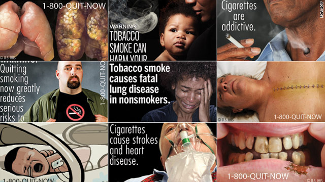 Nanny State Cigarette Warnings Unconstitutional