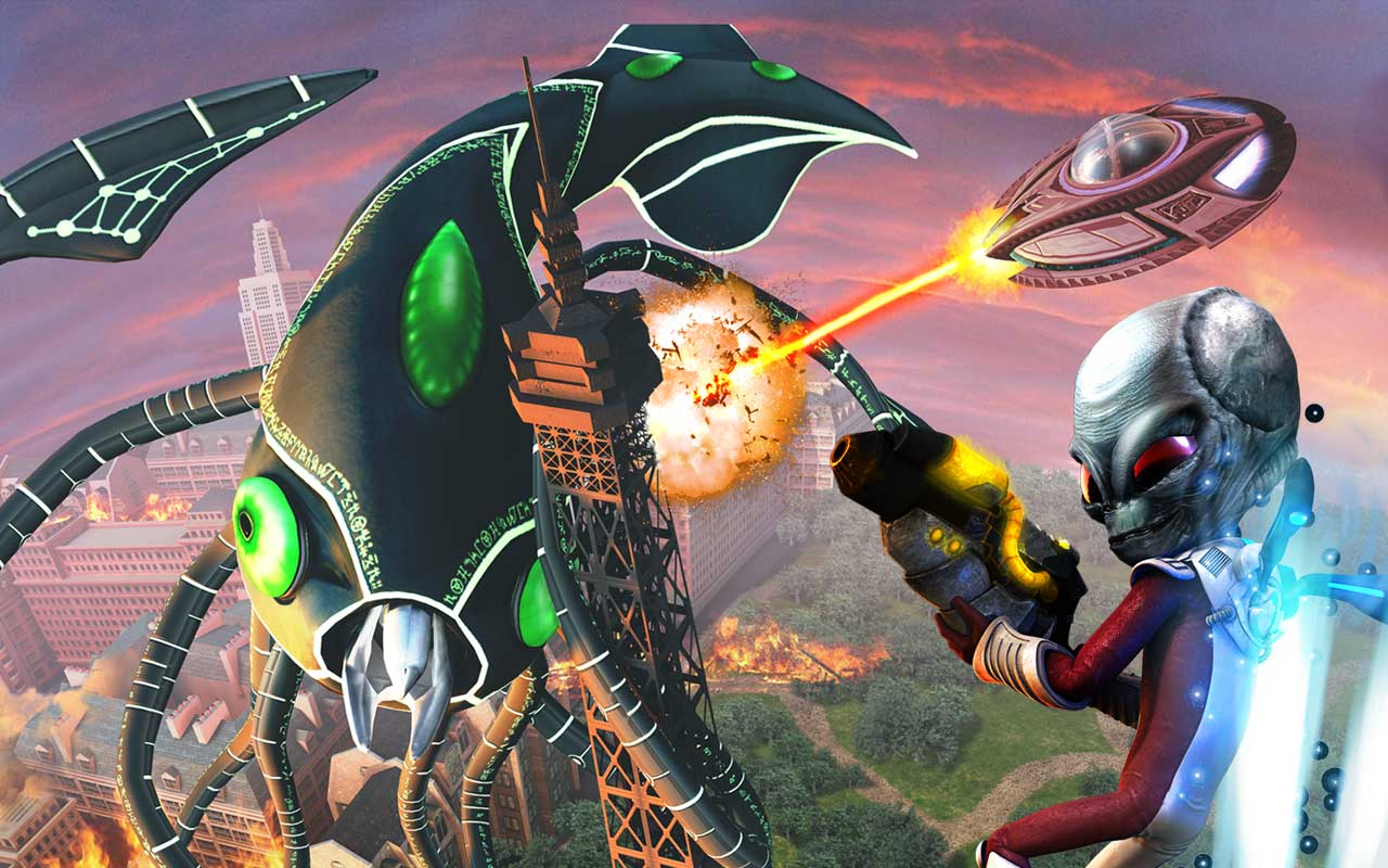 Destroy All Humans Ps2 Cheats