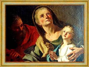 SANTA ANA, MADRE DE LA VIRGEN MARÍA
