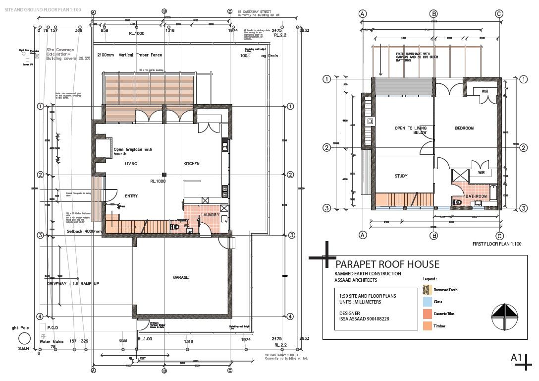 Issa elassaad for Parapet house plans