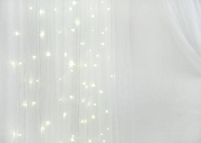 DIY Fairy Light Curtain | Hello Gwen