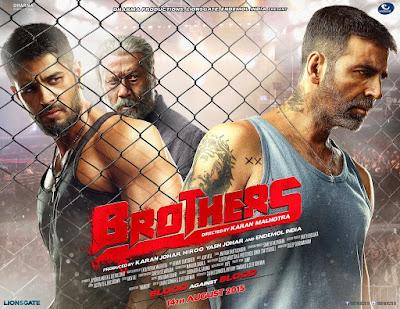Brothers 2015 Hindi DVDScr 400mb