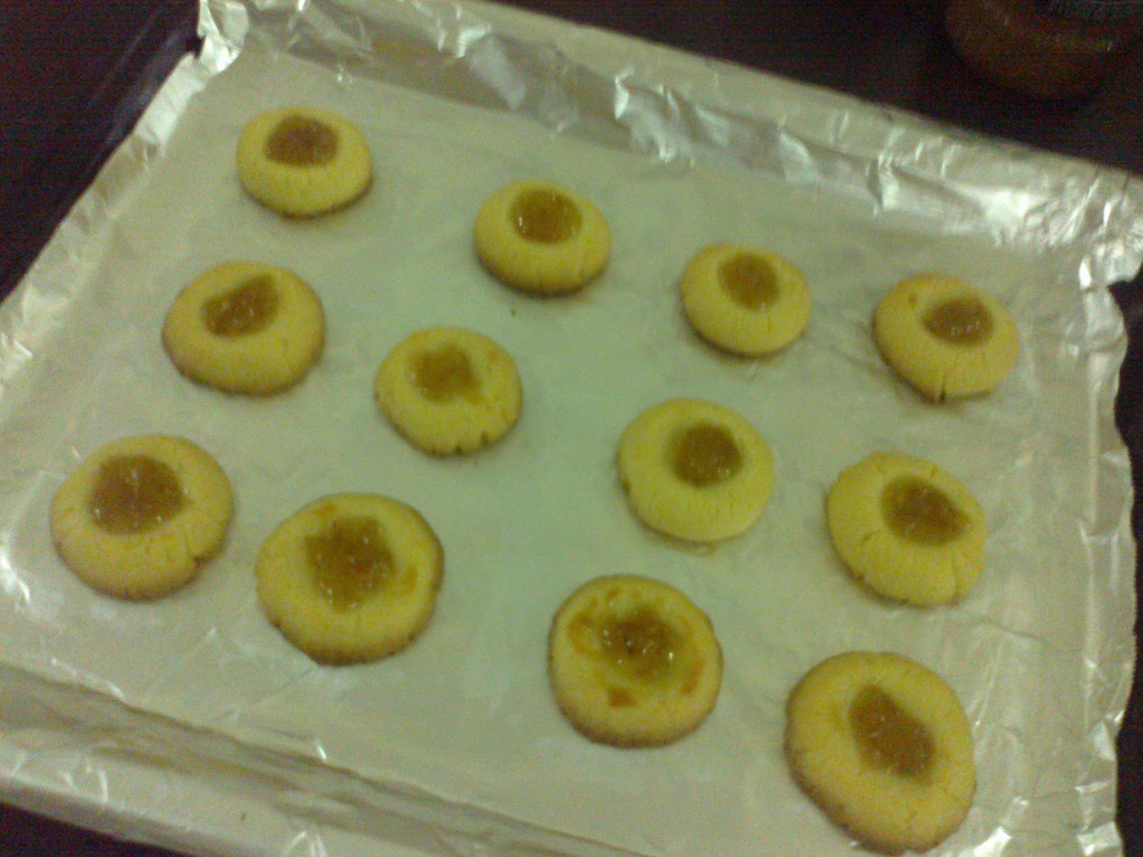 ... Archive: KITCHEN厨房日记: Thumbprint Cookies with Jam Filling