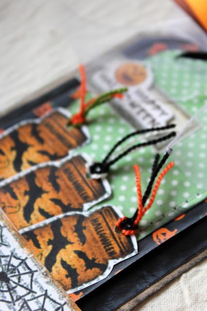 теги, открытки, хэллоуин