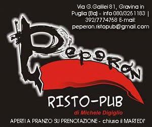 """Pubblicità - """"Peperon Risto Pub"""""""