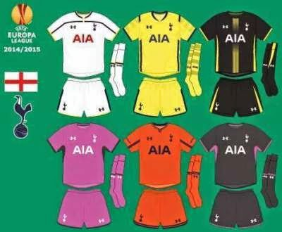 Spurs new 3rd kit