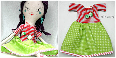 doll dress robe poupee enfant