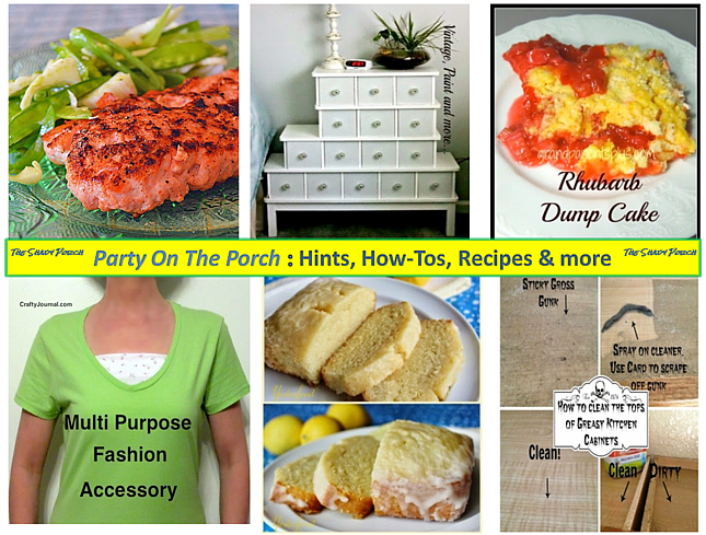 Party On The Porch: Hints, How-Tos, Recipes and more