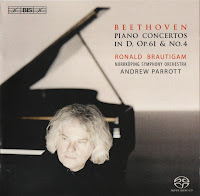 Beethoven: Piano Concertos in D, Op.61 & No.4