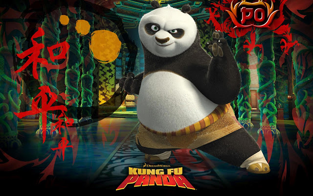 kung fu panda, panda, desktop backgrounds