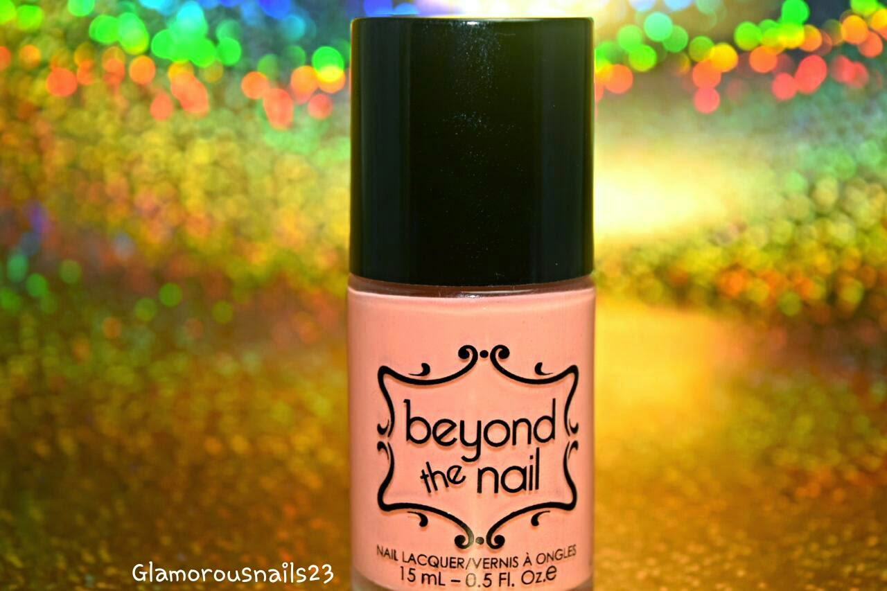 Beyond The Nail Spring Orange