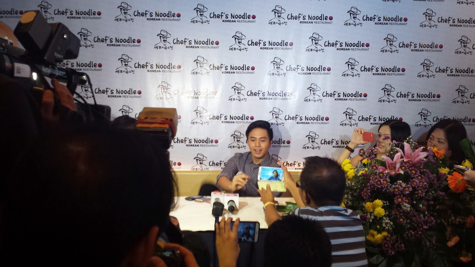 Sam Concepcion is the New Endorser of Chef's Noodle Philippines