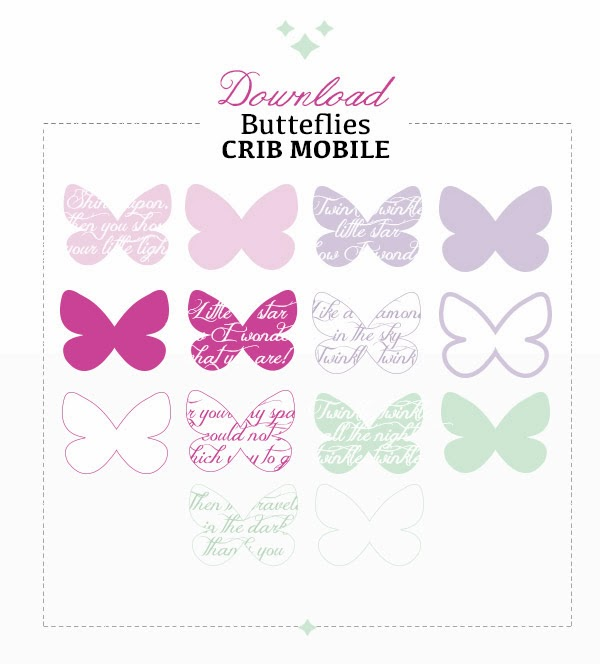 free printable butterfly template for mobile