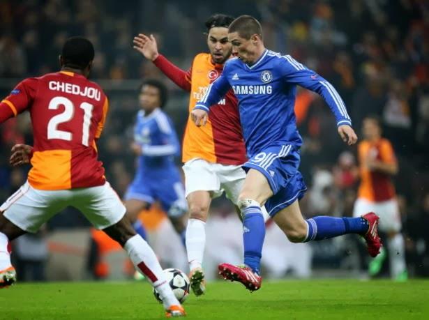 Hasil Galatasaray vs Chelsea 1-1 Liga Champions Babak 16 Besar Leg 1