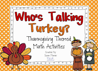 http://www.teacherspayteachers.com/Product/Whos-Talking-Turkey-Thanksgiving-Math-Centers-360667