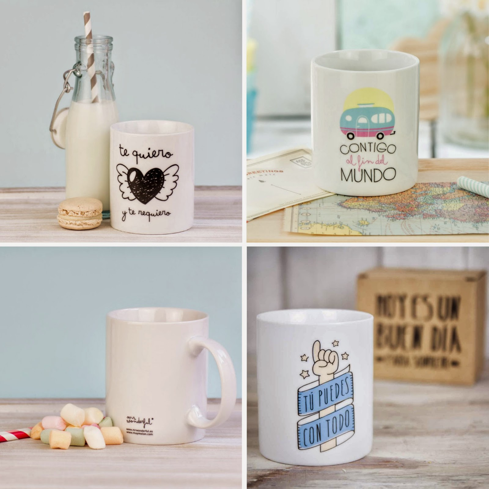 Tazas Mr.Wonderful