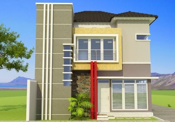 color cat eksterior rumah minimalis