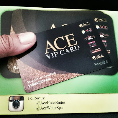 ACE VIP Card: Loyalty Program and Pre-loaded Perks