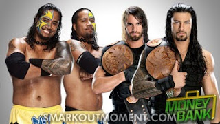 Usos win Tag Team Championship Money in the Bank 2013 Shield