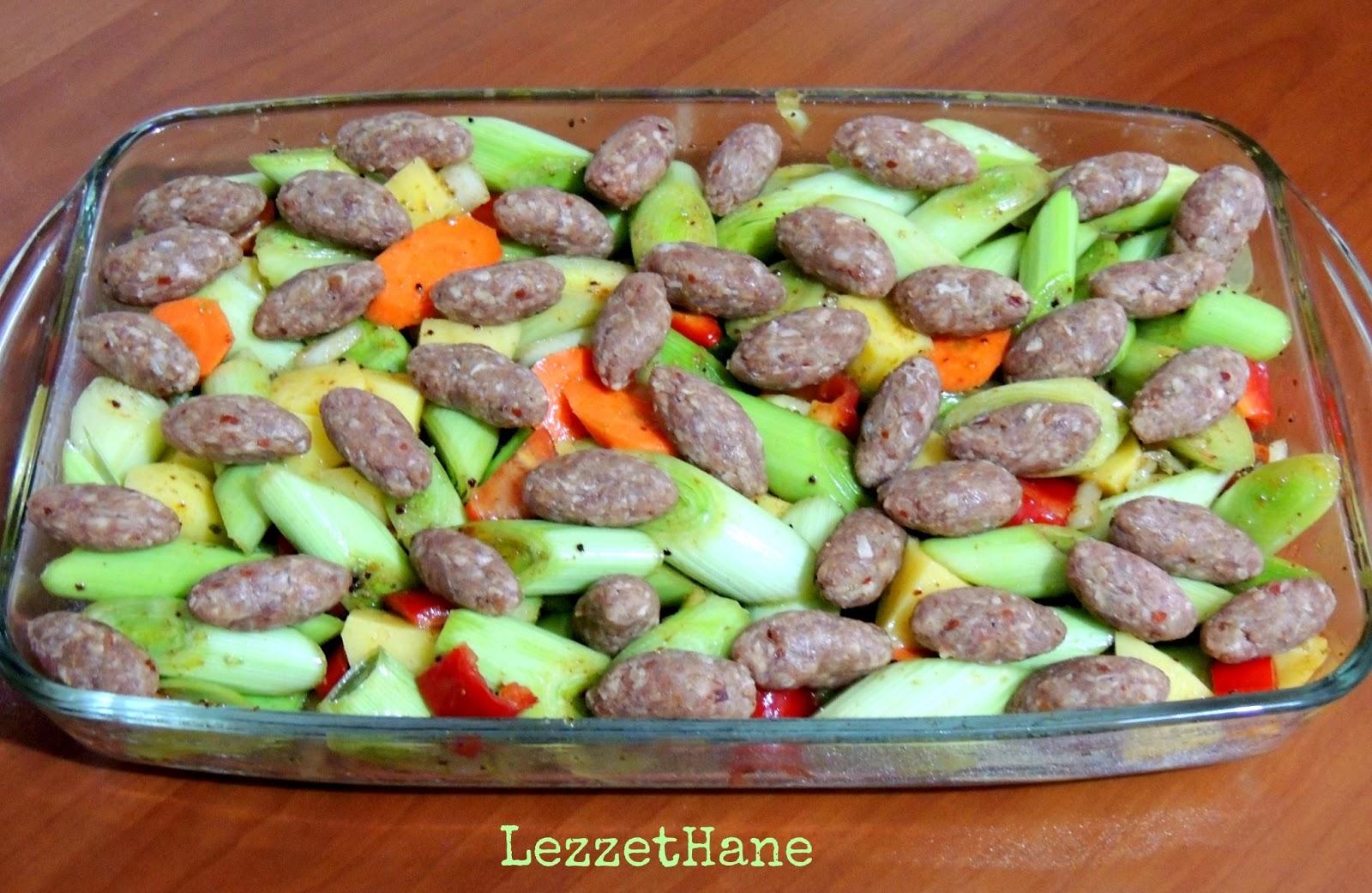 Fırında lahana köftesi