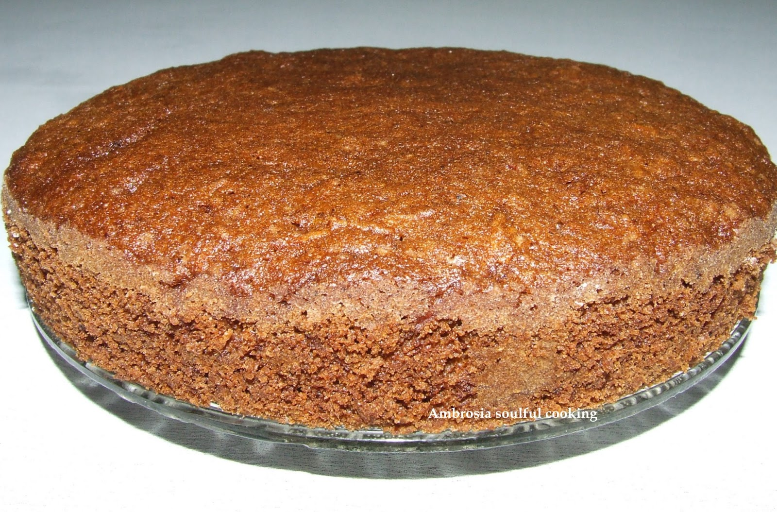 AMBROSIA: WHOLE WHEAT CARROT CAKE