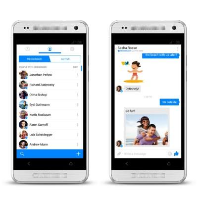 Upgrade Facebook Messenger Tersedia Untuk iOS dan Android