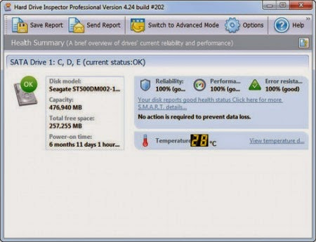 Download Hard Drive Inspector v4.31 Build 229 Pro & for Notebooks Portable