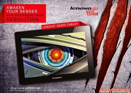 Máy tinh bảng Lenovo S6000 3G