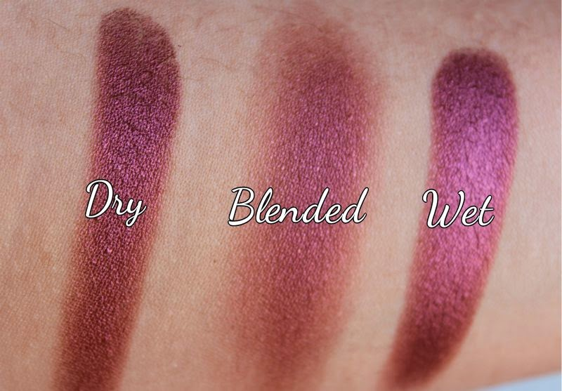 MAC Humid Eyeshadow Review Swatch EOTD