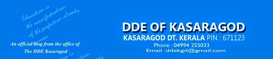 Deputy Director of Education Kasaragod