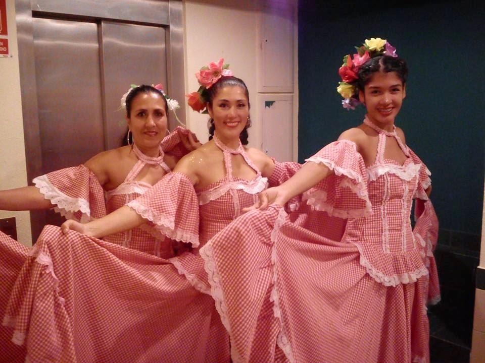 Laura, Martica y Jhoana