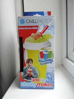 Slushy maker, chill factor, DIY Slush