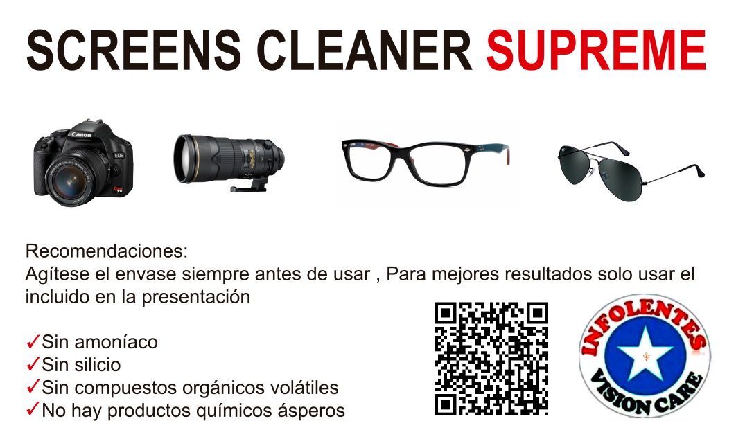 SCREENS CLEANER SUPREME