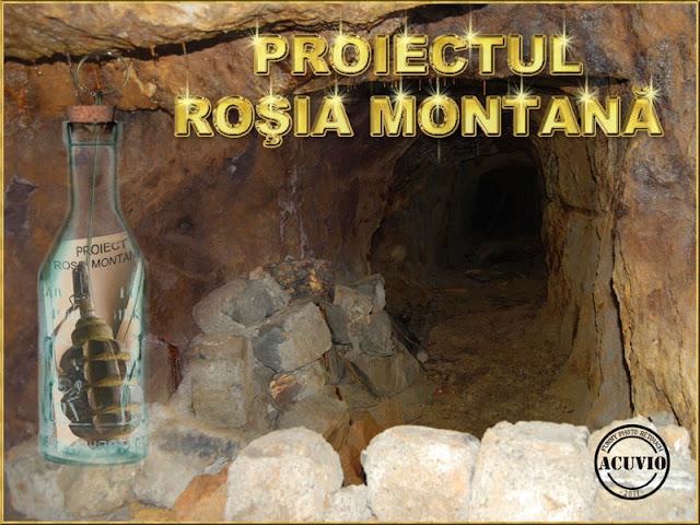 Funny photo Proiectul Rosia Montana